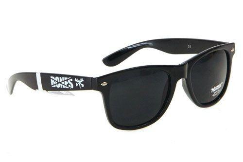 óculos bones rat preto wayfarer skate importados