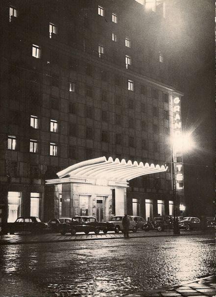 Grand Hotel nocą, fot. W. Zarzycki