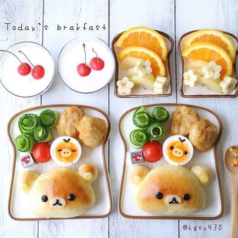 2017.7.2 * * Today's brakfast I baked Rilakkuma cream buns!ฅ՞•ﻌ•՞ฅ * * 今朝の朝食picでこんにちは✩︎⡱ リラックマのクリームパンを焼いてみました⑅◡̈* 久々にパンを焼いたので、手際悪く焼きムラも…( ・ὢ・ ) ムムッ 時間がある時またリベンジしてみよう…(´⊿`) * * お返事前なのでこちらのコメント欄は閉めます♀️♡♡ いつも見て下さっている皆様♡ ありがとうございます✩︎⡱ 7月も宜しくお願いします✩︎*॰ ( ¨̮ ) ॰*✩︎ 引き続き、良い1日を•*¨*•.¸¸♬ * * * #朝食#あさごぱん#朝ご飯#ワンプレート #キャラフード#リラックマ#クッキングラム#デリスタグラマー#雨の日の晴れごはん #手作りパン#手捏ねパン#おやつ#おうちカフェ #おうちごはん#キャラパン#こどもごはん#クリームパン#brakfast #rilakkuma #homebaked #buns #kyaraben #cutefood #kawaiifood #instafood#foodie #fo...