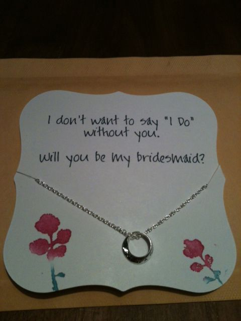 Super cute bridesmaids invitations