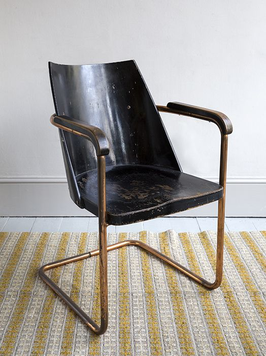 Rare Early Modernist Chair By Bruno Weil For Thonet Paris