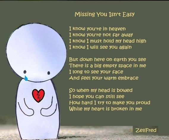 Missing You Isn't Easy Love Quotes Miss You Sad Hurt I