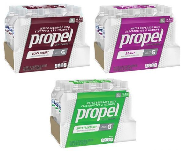 Propel+Zero+Calorie+Sports+Drinking+Water+with+Antioxidant+Vitamins+C+&+E,+16.9+Ounce+Bottles+(Pack+of+12)+Only+$5.11!!