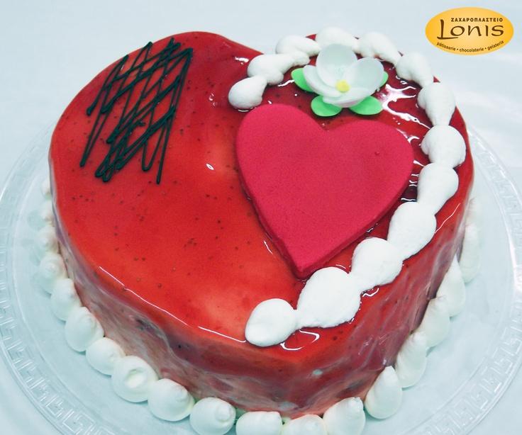 Τούρτα - Αγ.Βαλεντίνου #valentinesday