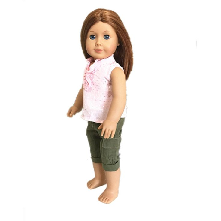 Trendy Dolls - Cargo Pants With Pink Blouse, $9.99 (http://www.mytrendydoll.com/cargo-pants-with-pink-blouse/)