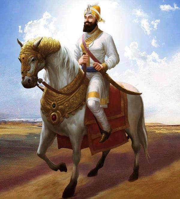 83 best images about guru gobind singh ji on pinterest - Shri guru gobind singh ji wallpaper ...