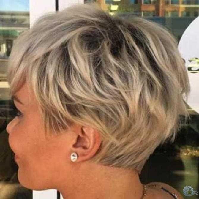 Kurze Bob Stil 2019 Kurzhaar Frisuren Damen Kurze Blonde Frisuren Frisur Ideen Haarschnitt