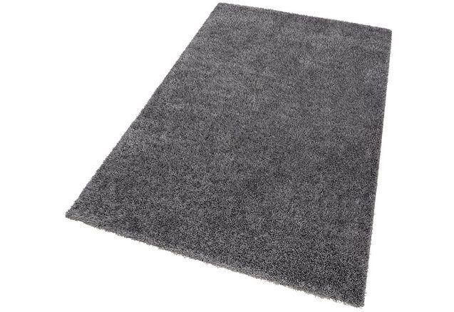 Hoogpolig vloerkleed, ESPRIT, »Cosy Glamour«, hoogte 40 mm, geweven met mêlee-effect