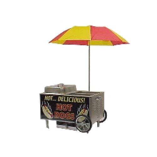 Gold Medal 8080nS Table Top Hot Dog Steamer Cart Electric