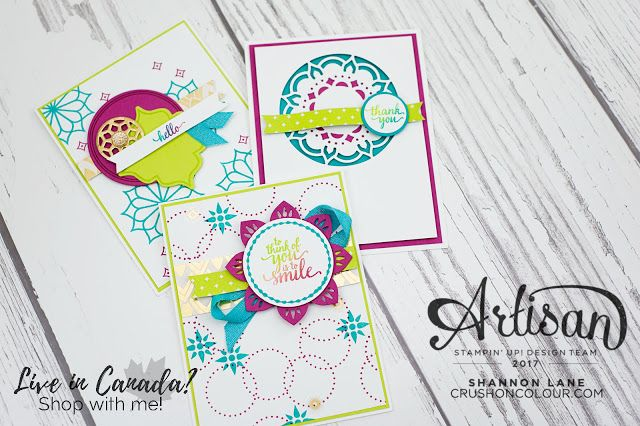 Crush On Colour: Eastern Palace - Experience the Opulence! Stampin' Up! ADT Blog Hop
