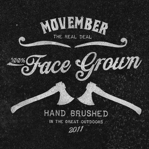 Mustachio- Movember for a good cause