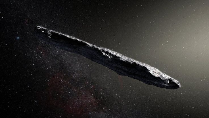 An asteroid that visited our Solar System from interstellar space is one of the most elongated celestial bodies known to science.