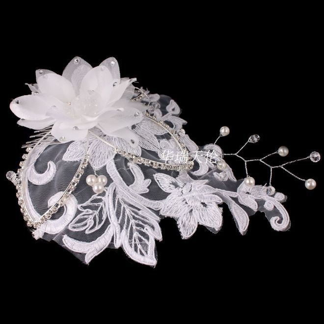 Одна часть белый цветок кристалл горный хрусталь атласная женщины свадьба свадебная ну вечеринку волос гребень клипы бесплатная доставка, принадлежащий категории Украшения для волос и относящийся к Ювелирные изделия на сайте AliExpress.com | Alibaba Group