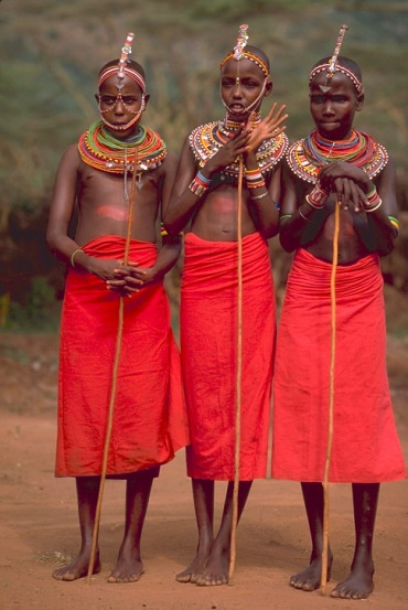 The Maasai (or Masai) people of East Africa live in southern Kenya and northern Tanzania along the Great Rift Valley on semi-arid and arid lands.