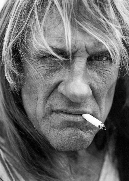 I'm curious about people. That's what I've always done since I've been a small boy. I'm curious about others.- Gerard Depardieu