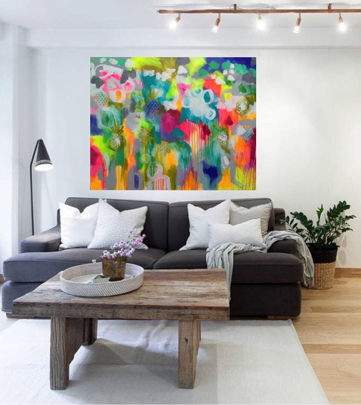 Montego Bay - original on canvas 120 x150 cm