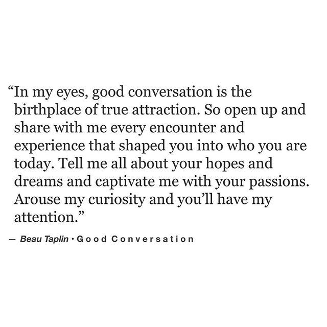 Good conversation #beautaplin