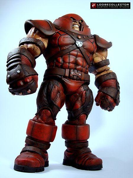 Juggernaut : Ultimate Alliance (Marvel Legends) Custom Action Figure by loosecollector Base figure: MS Juggernaut
