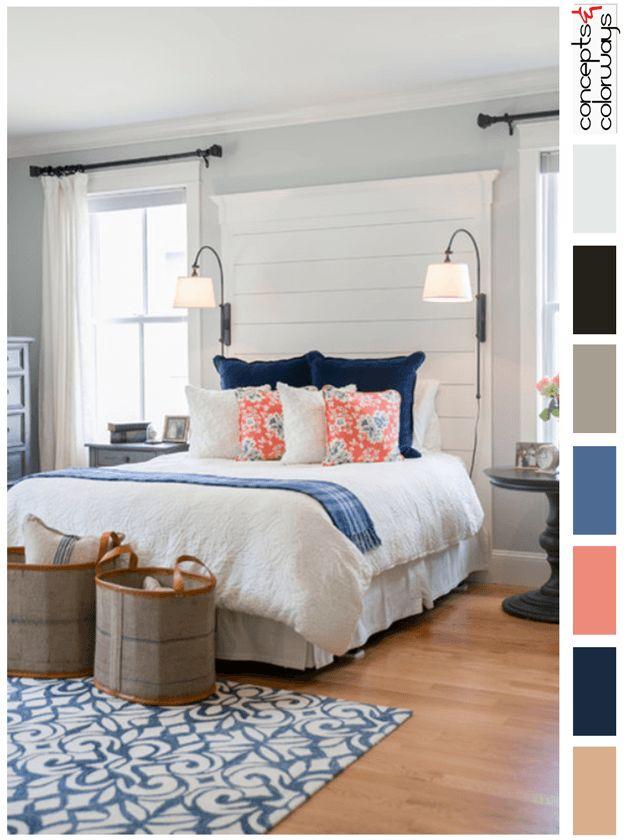 Living Room Color Palettes For Lake Cottage
