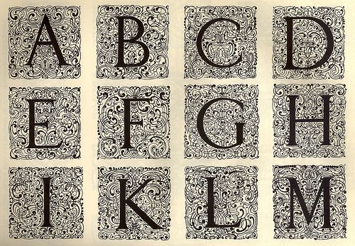 Decorative Alphabet | Flickr - Photo Sharing!