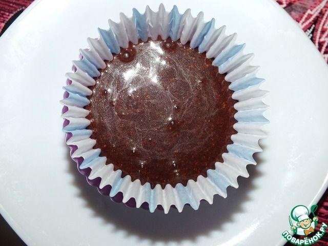 Низкокалорийные шоколадные кексы за 1 минуту ингредиенты