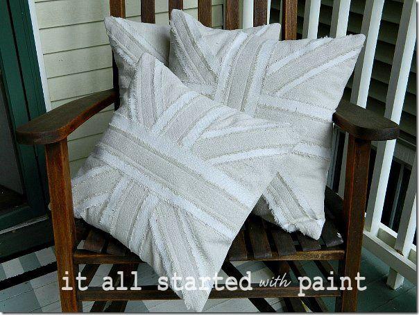 Union Jack Pillow Drop Cloth Pillow Union Jack Drop Cloth Pillow With Images Union Jack Pillow