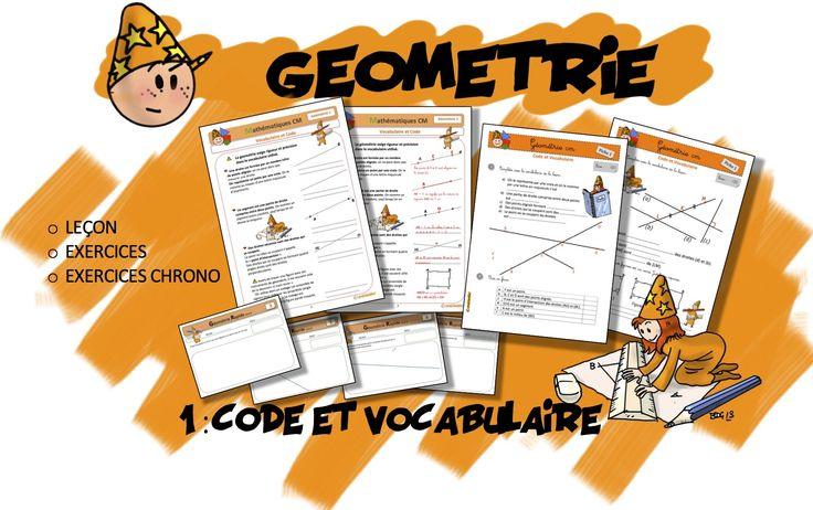 CM Géométrie 1 : Code et Vocabulaire | Bout de Gomme