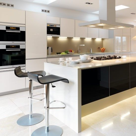 Best 25 contemporary kitchen inspiration ideas on for Modern chic kitchen designs