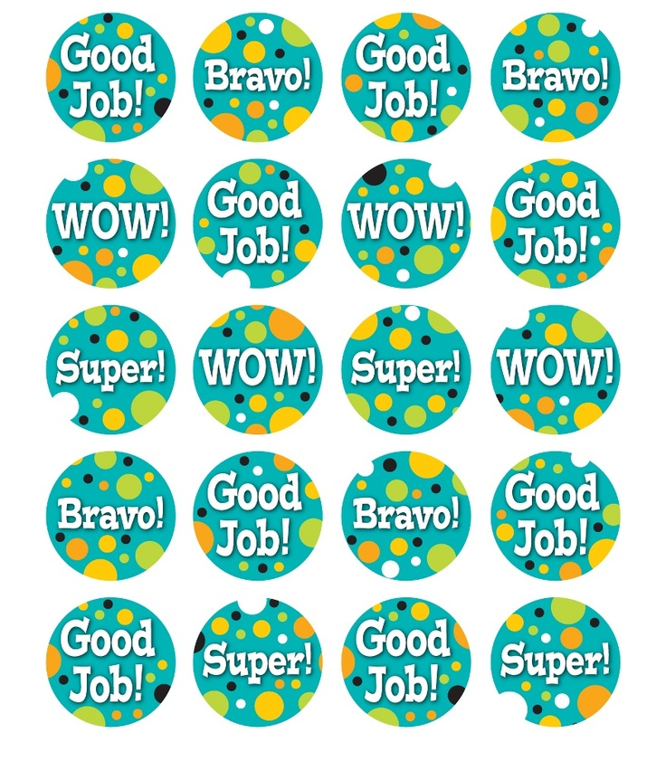 Teal Appeal Motivators Motivational Stickers from Carson-Dellosa  @TeachersPetInc