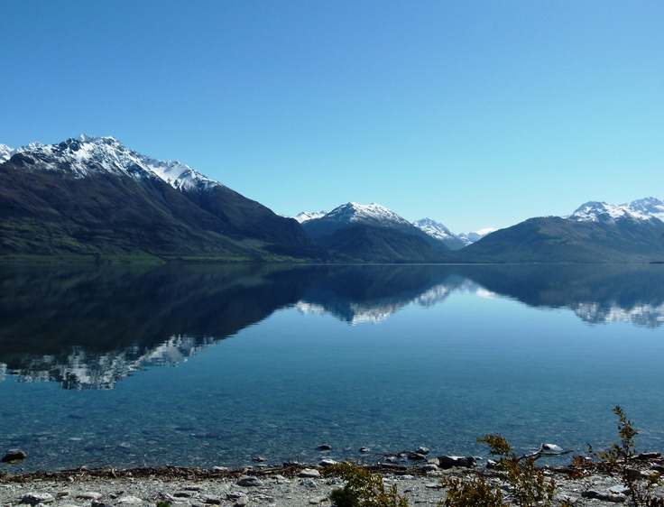 Reflections on the way to Glenorchy