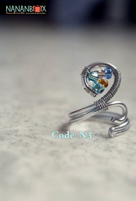 Circle ring  Code: N3 by Nananbox on Etsy
