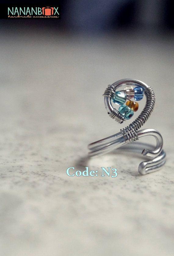 Circle ring  Code: N3 by NananBox on Etsy