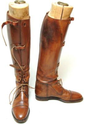 Vintage riding boots..