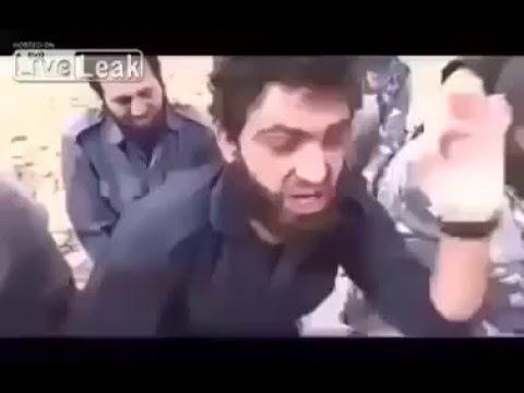 ISIS Fighters Crying Like Bitches When Captured-- Kill The Bastards! - YouTube