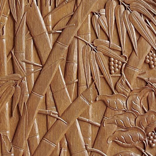 Carved Bamboo On Door Bamboo Pinterest Wood Carvings