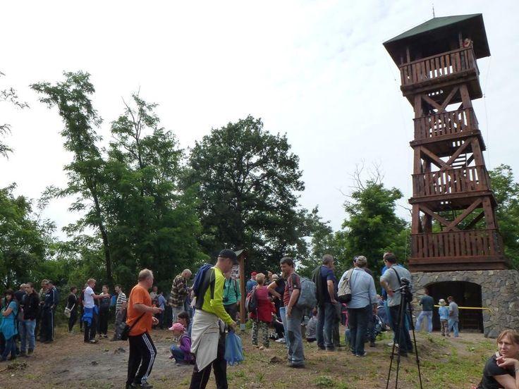 Rozhľadňa Maginhrad je oficiálne otvorená | Články | malohont.sk