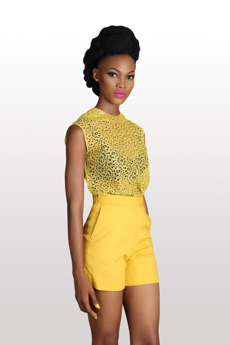 Mellow yellow #Luxoca #africanfashion #luxury #designer http://luxoca.com/