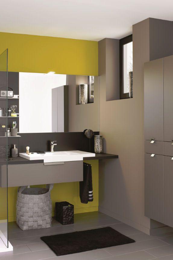 9 best salle de bain images on Pinterest Bathroom, Bathroom - Meuble De Salle De Bain Sans Vasque