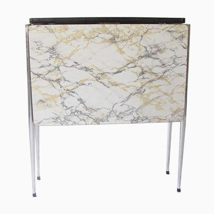 Formica Tisch In Marmor Optik, 1960er Jetzt Bestellen Unter: ...