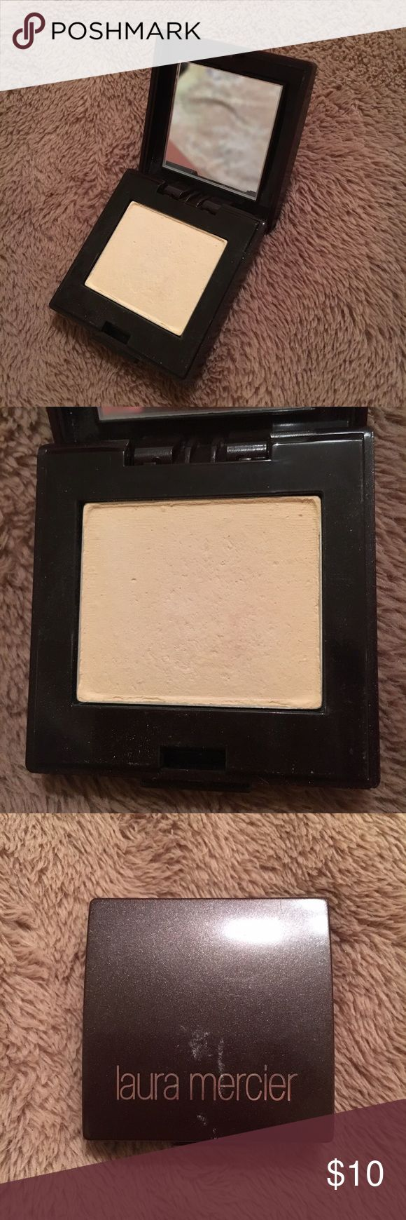 Laura Mercier - Eyeshadow Barely used. In great condition. Summer Sand Eye Shadow Color. All of my mom's impulsive buys that got used once or twice. Open to offers! laura mercier Makeup Eyeshadow