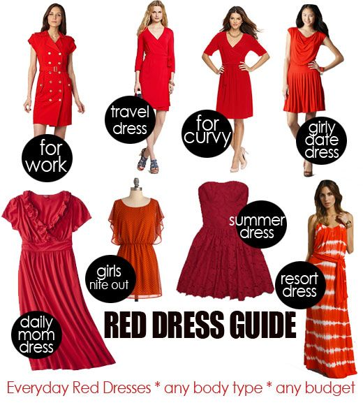 Red dress dream meaning nails
