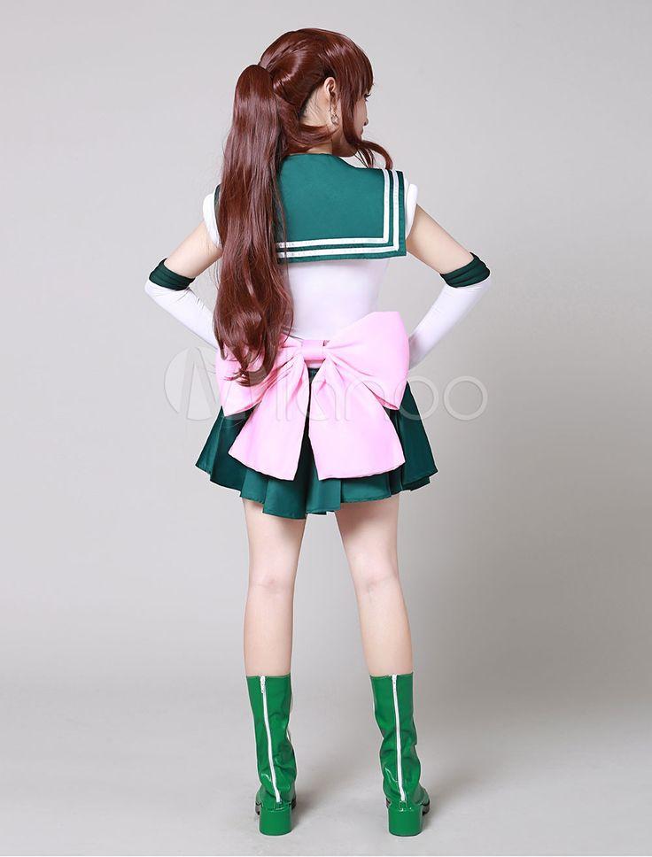 Traje para cosplay de Sailor Moon de Sailor Jupiter de Sailor Moon - Milanoo.com