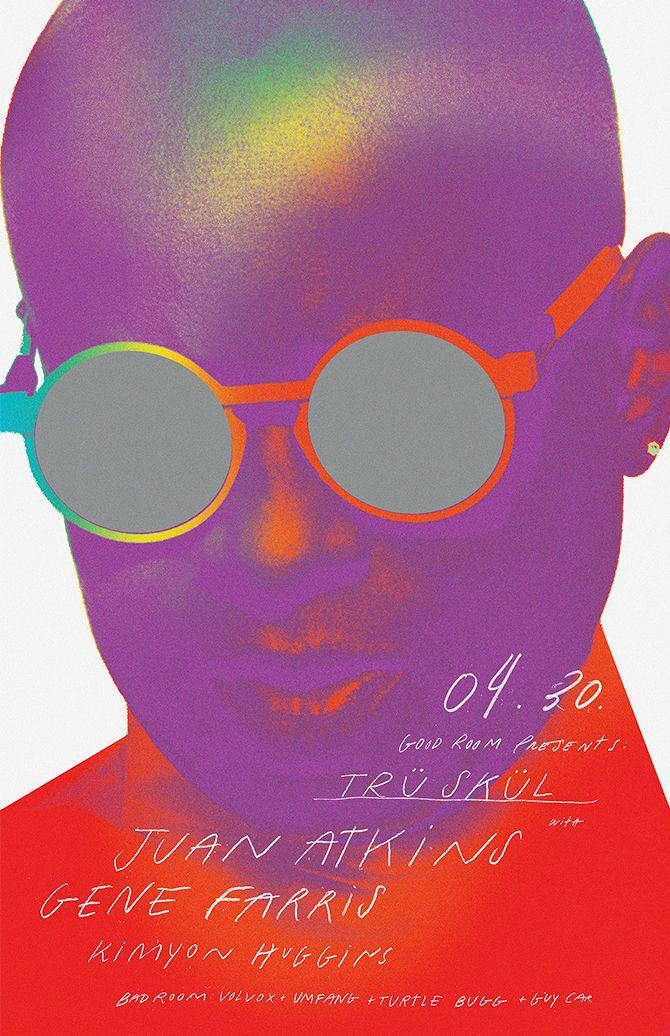 Juan Atkins, Good Room, Poster 2016