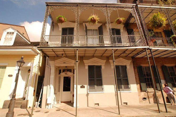 Inn on St Ann, New Orleans, Interior Entrance