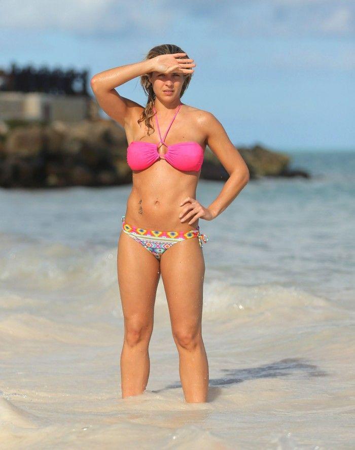 Gemma Atkinson, ex copine de Cristiano Ronaldo est sexy en lingerie