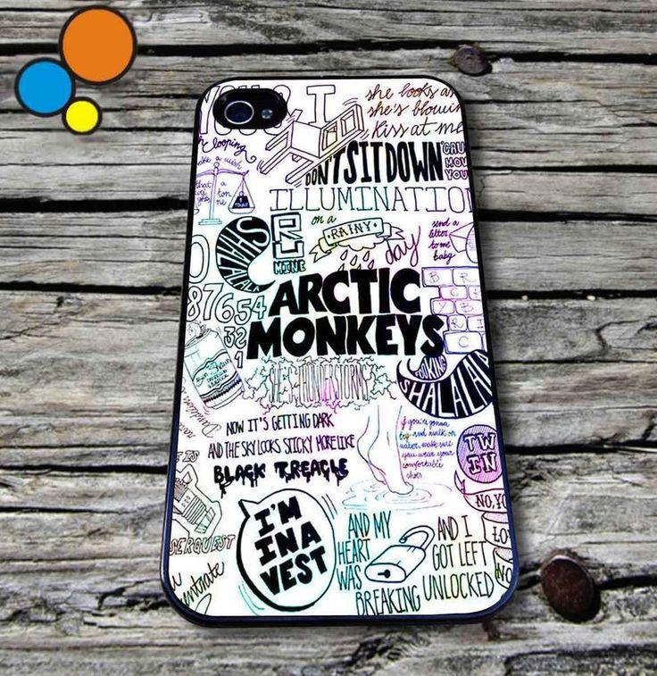 Arctic monkeys lyric Case for iPhone iPod case