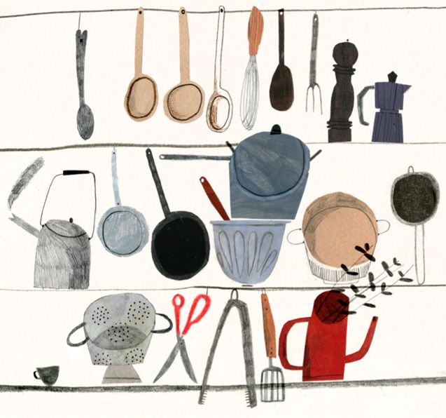 The Drawings and Illustrations of Emma Lewis | The Fox Is Black