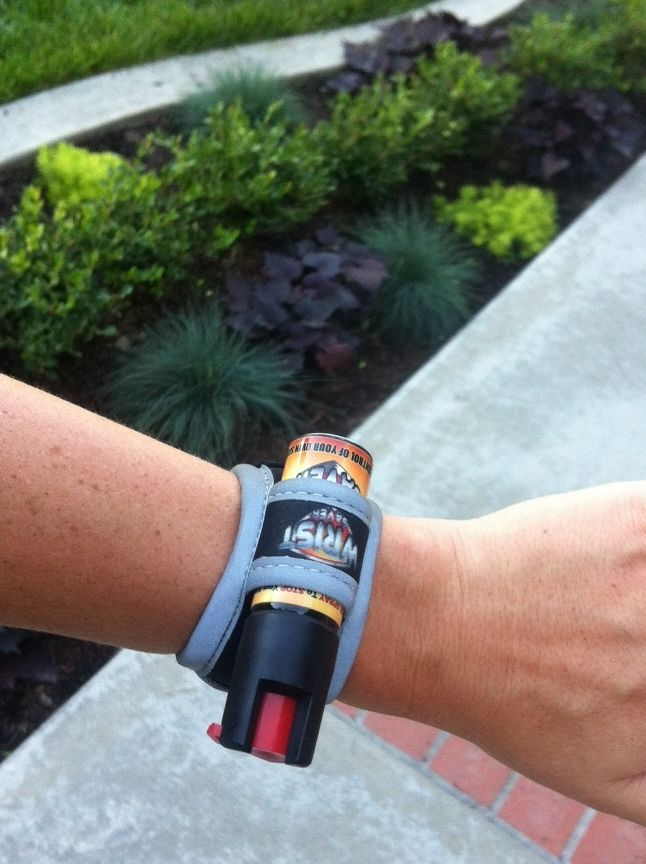 Running Safety Tip ~ Pepper Spray Review www.chicrunner.com