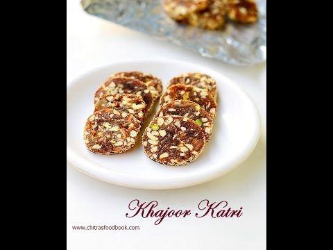 Easy Dates Nuts roll, Khajoor roll, Indian Khajur roll - Easy Indian diwali sweets recipe