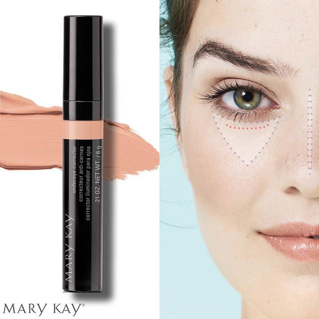 Mary Kay NEW Undereye Corrector neutralizes dark circles and brightens the undereye area, helping to deliver a refreshed, wide -awake appearance.